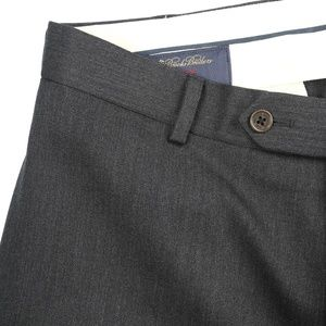 Brooks Brothers Madison Flat Front Dress Pants
